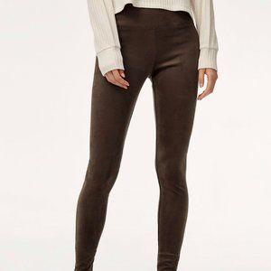 Aritzia Wilfred Olive Daria leggings